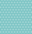 Snowflake seamless pattern background vector image