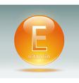 vitamin E vector image vector image