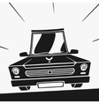 Symbol Car vector image vector image