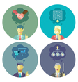Business and Management set 1 vector image