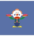 Clown With Pies vector image