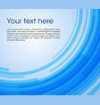 abstract circle rectangle background in blue color vector image