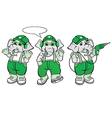 Elephant Mechanic Mascot vector image
