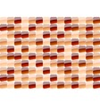 red mosaic vector image vector image