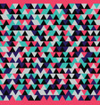 seamless triangle pattern background geometric vector image