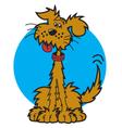 Mutt dog vector image