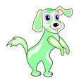 cartoonish dog vector image