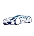 Super auto vector image vector image