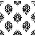Damask pattern background vector image vector image