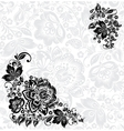 abstract floral design elements vector image vector image
