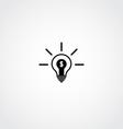 Business Idea Icon vector image vector image