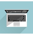 Laptop Isolated Icon vector image