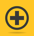 Icon of Medical Cross vector image