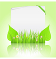 nature banner vector image vector image