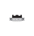 Berlin Germany city symbol vector image
