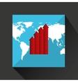 finance money economy dollar business vector image