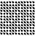 abstract background of black connected dots in vector image