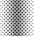 Black white abstract polygon pattern background vector image