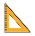 yellow school rule graphic vector image