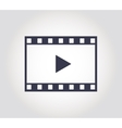video icon - vector image