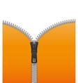 Zipper background vector image