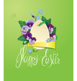 paper egg 2 380 vector image vector image