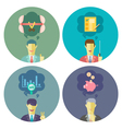 Business and Management set 3 vector image