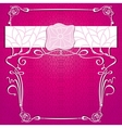 lace purple background vector image