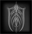 pinstriping 4 vector image