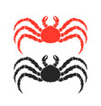 king crab vector image