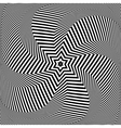 Torsion movement vector image