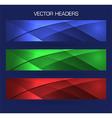 headers set vector image