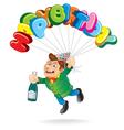 Happy Guy vector image vector image