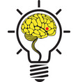 brain idea vector image