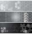 Digital banners vector image