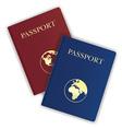 passport 03 vector image