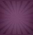 purple background texture with sunburst vector image