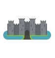 Castle cartoon vector image