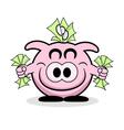 Rich Piggy Bank vector image