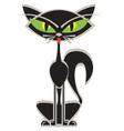Siamese cat vector image vector image