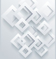 abstract geometric shape from gray rhombus vector image vector image