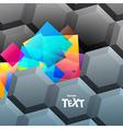 Hi-tech banner vector image