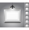 Studio wall vector image