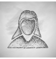 woman icon vector image