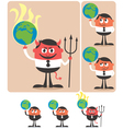 Owning Earth vector image vector image