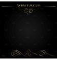 Seamless vintage background or frame vector image
