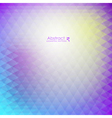 Abstract purple geometric pattern vector image vector image