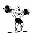 squat vector image