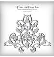 Ornate element for design Ornamental vintage for vector image vector image