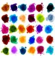 paint speech bubbles vector image vector image